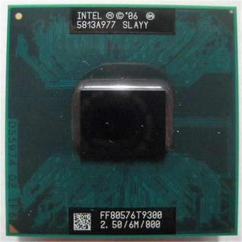 Cpu para portátil intel core T9300, 2,5 GHz, 6M, 800MHz, versión oficial, cpu SLAYY SLAQG CPU