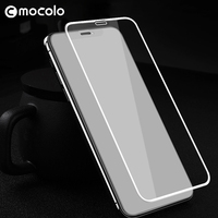 Mocolo Full Cover 3D Curved Screen Protector Glass Full Glue Film Anti Dust Protect Microphone Tempered