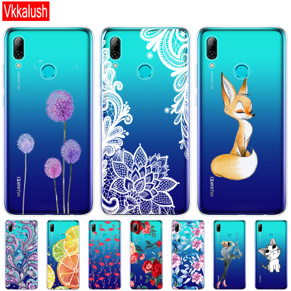 Case For Huawei P Smart 2019 Silicon Soft TPU Back Cover For Huawei P Smart Plus 2019 Case Cover For Huawei P Smart Z Bumper