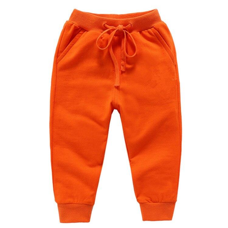 Retail New Warm Velvet Pants For 2-10 Yeas Solid Boys Girls Casual Sport Pants Jogging Enfant Garcon Kids Children Trousers 10