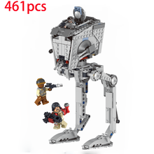Walking Machine StarWars Model Building Blocks Harmless Bricks Enlighten Compatible with INGLYS Toy For Kids retail sluban building blocks enlighten girls toy pink fantasy fast cars compatible with particles m38 b0155