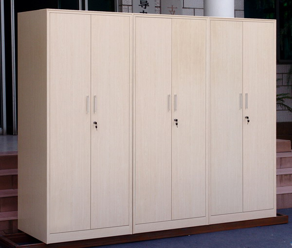 2 Door Steel Lockerwood Grain Cabinet Clothes Cabinetcupboard