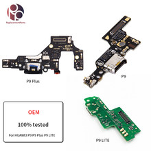 OEM Tested Charger Charging Port Dock USB Connector Flex Cable For HUAWEI P9 P9 PLUS P8 P9 LITE Headphone Audio Jack Flex Ribbon(China)
