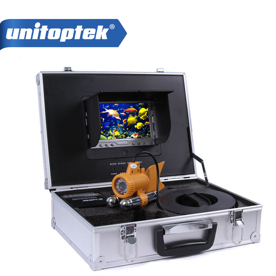7 inch TFT LCD Fishing Camera Kit Fish Finder HD SONY 650TVL CCD Underwater Video Camera System With white light 20m Cable