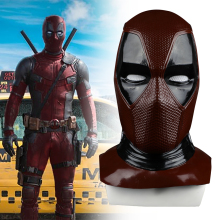 2018 New Moive Deadpool 2 Mask Breathable PVC Full Face Mask Halloween Cosplay Props Wholesale Hood Helmet On Sale!!! halloween props deadpool mask eco friendly resin cosplay party mask full face 11 6 7 inch