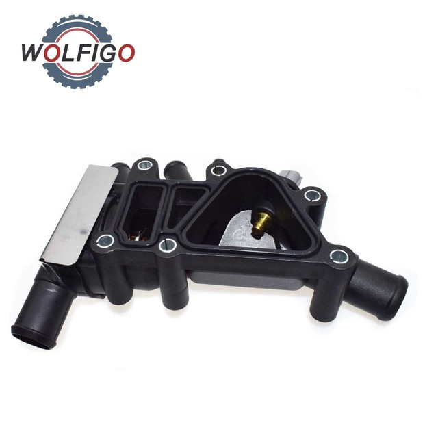 Wolfigo Engine Coolant Thermostat For Ford Ka   Hatchback Xse A Al
