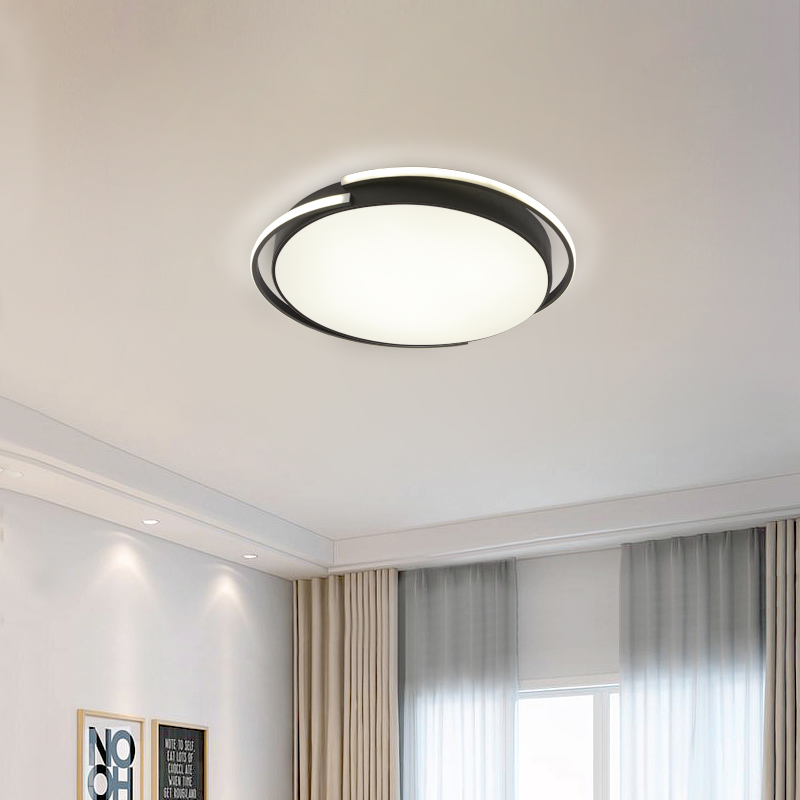Official Website Regron Simplicity Ceiling Lights Nordic Minimalism Creative Warm Led Ceiling Lamp Modern Control Hanging Lights For Living Room Crazy Price Ceiling Lights & Fans Ceiling Lights