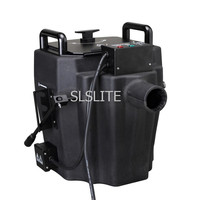 free shipping 3500w dry ice machine/ ground fog machine/ low fog machine For Wedding Party Event Night Club