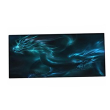 Custom Large Game Mouse Pad 900*400 mouse mat left and right brain design high quality DIY picture with edge locking