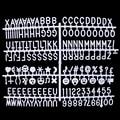 Персонажи для фетровой доски с буквенным принтом 340 цифр для доски со сменными буквами 10166