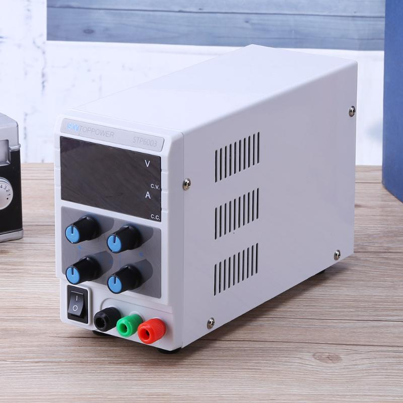 0-60V 0-3A 180W 3 Bit Digit Display DC Power Supply Single AC 110V/220V Adjustable DC Regulated Power Supply four digit display rps3003c 2 adjustable dc power supply 30v 3a linear power supply repair