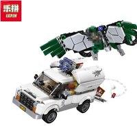 Lepin 07076 Marvel Super Heroes Spiderman The Beware Of Vultures Set Children Educational Building Blocks Bricks