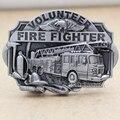 Fire Fighter Truck Volunteer Eagle Fireman Kit Western Silver Rodeo Belt Buckle Belt Buckle Jewelry Accessories 2017 New