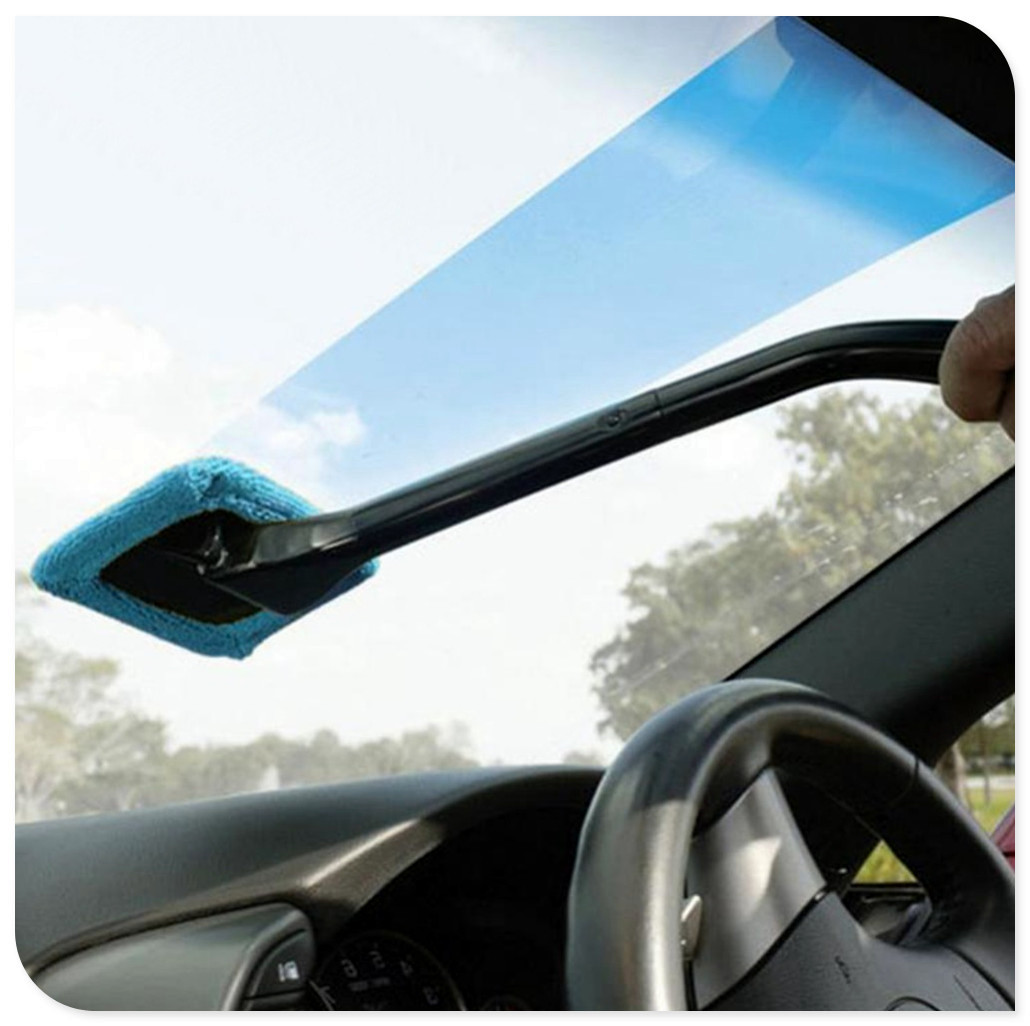 Car Window Cleaning Brush Wash Dust Towel for Mercedes Benz GLC63 GLA45 GLA G650 E63 E-Class A170 A B C E S Class W211 <font><b>W203</b></font> image
