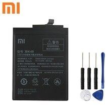 Xiao Mi Xiaomi BN40 Original Battery For mi Redmi 4 Pro Prime 3G RAM 32G ROM Edition Redrice Hongmi 4100mAh + Tool