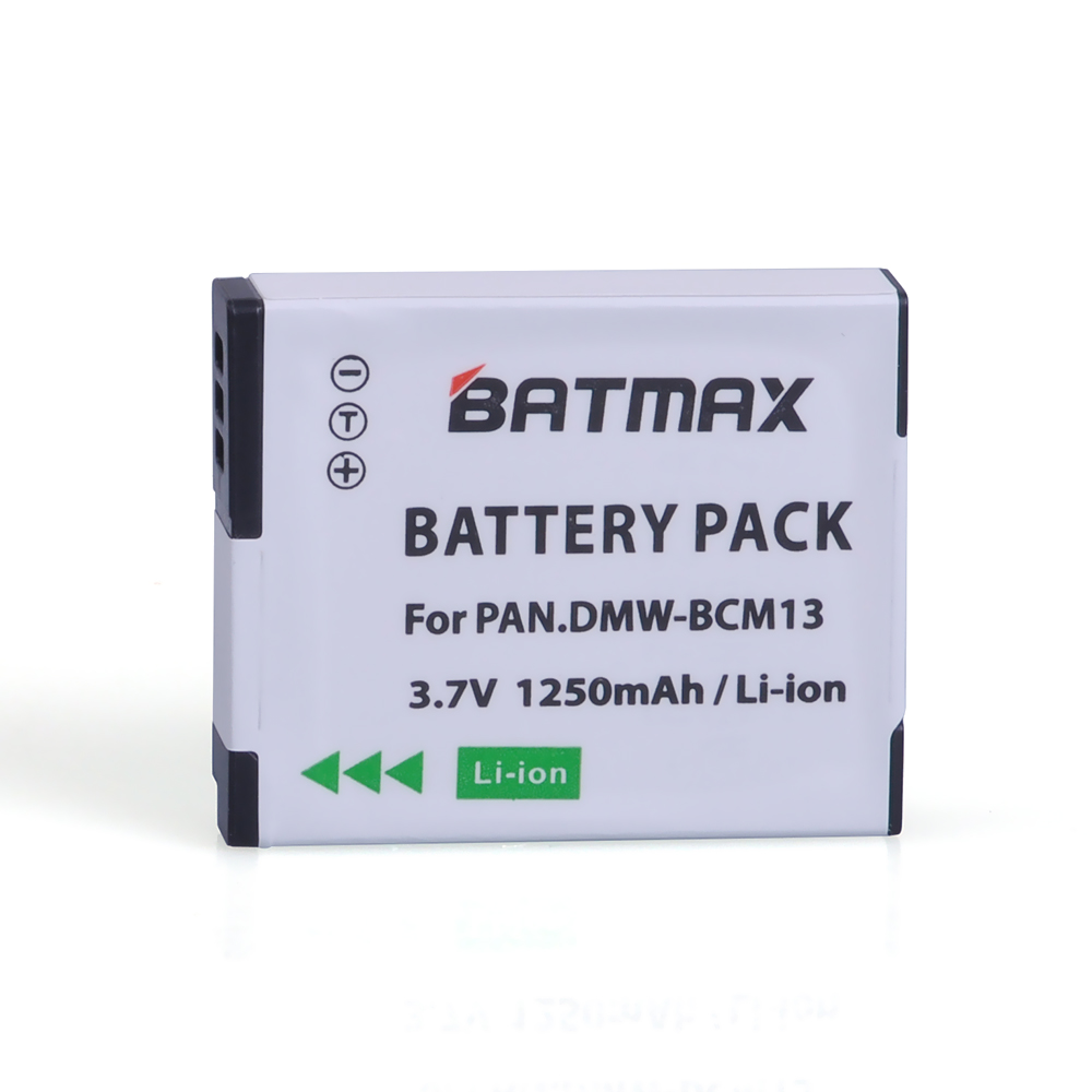 DMW-BCM13E Battery BCM13E BCM13 BCM13PP Replacement Battery For Panasonic Lumix DMC ZS30 TZ40 TZ41 TS5 FT5 Batteries Bateria