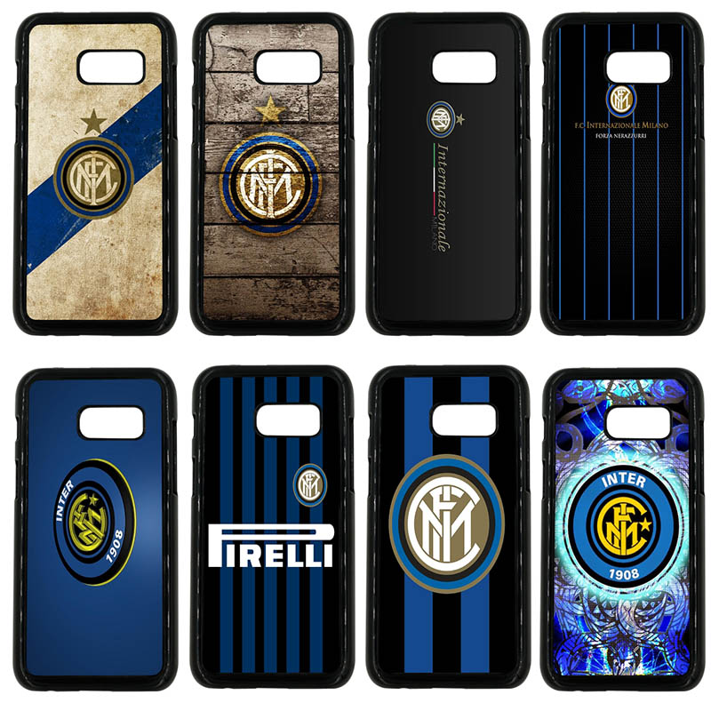 Inter Milan Italy Football Club Logo Cell Phone Case Hard PC Cover for Samsung Galaxy A3 A5 A7 A8 2015 2016 2017 2018 Note 8 5 3