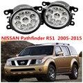 Для NISSAN PATHFINDER R51 2005-2014 стайлинга Автомобилей LED 4.5 Вт Противотуманные Фары Лампы ДРЛ 1 КОМПЛ. Желтый Синий белый 1209177