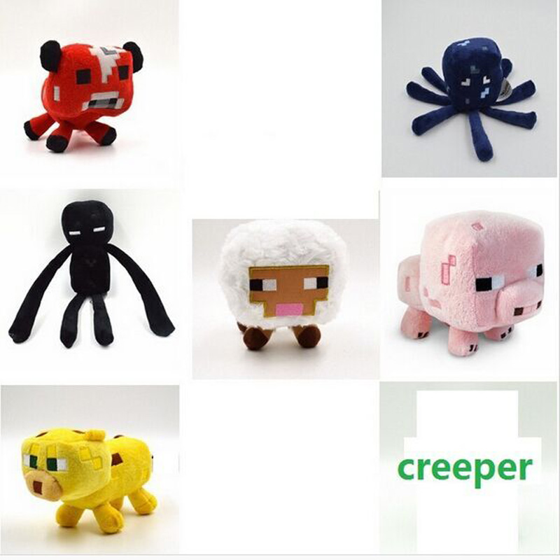 font b Minecraft b font Plush Toys High Quality Plush Toys Game Cartoon Toys font