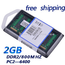 Brand New Sealed DDR2 800 Mhz 2GB PC2 6400 2GB 200pin for all motherboard laptop RAM