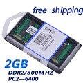 Brand New Sealed DDR2 800 PC2 6400 2 ГБ МГц 2 ГБ 200pin (для всех материнских плат) ноутбук Память RAM/Бесплатная Доставка!