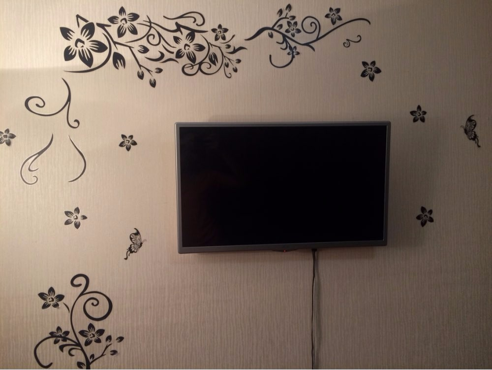 Hot DIY Wall Art Decal Decoration Fashion Romantic Flower Wall Sticker/ Wall Stickers Home Decor 3D Wallpaper Free Shipping 11