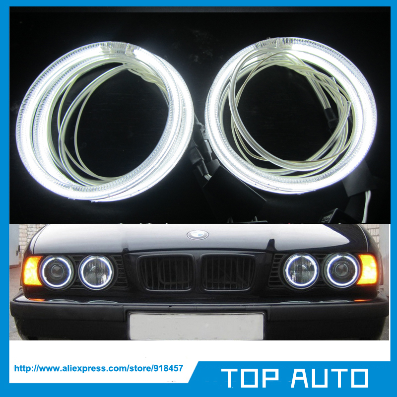 Switchback White /& Amber Angel Eye Halo Ring Light LED For E30 E32 E34 525i 530i