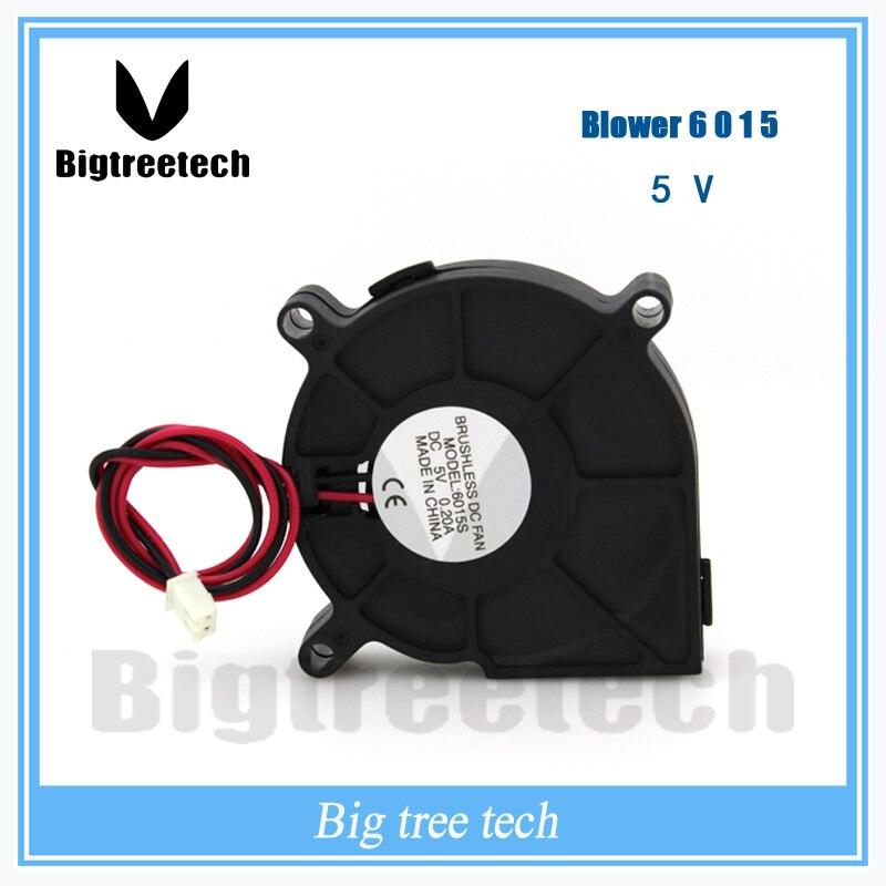 For 3d printer part 2016 high quality 60x60x15mm 6015 DC Blower Fan 5V Micro Mini fan 3D0035
