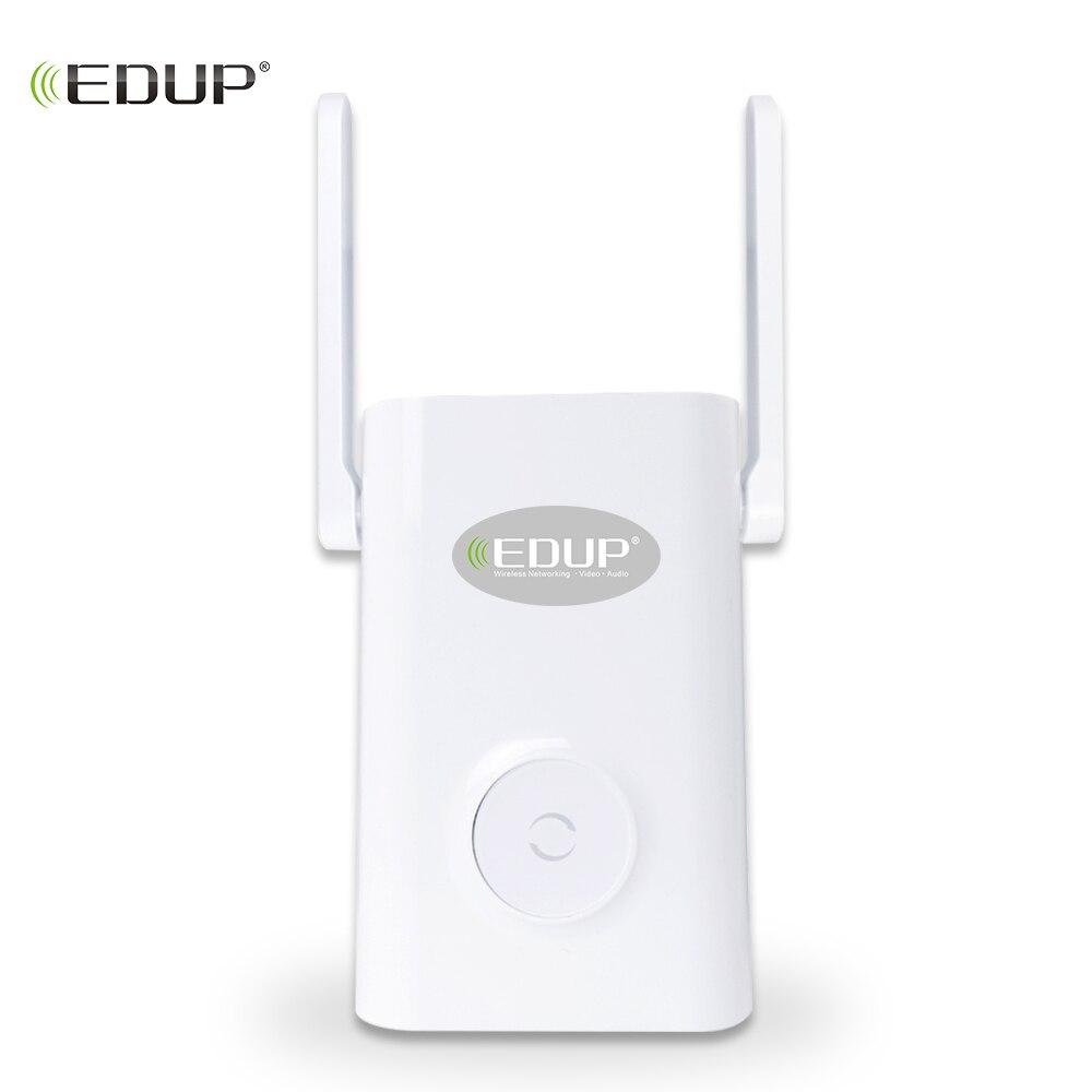 EDUP 1200 Mbps Sans Fil WiFi Répéteur Dual Band 2.4/5 ghz Wi-Fi Range Extender 2 * 4dBI Antennes 11AC signal Amplifer Point D'accès