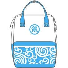 Новинка; Лидер продаж аниме «Серебряная Душа» Косплэй Саката гинтоки рюкзак йо Ro Zu Я студент дорожная сумка для компьютера японское аниме, круглый