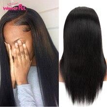 Прямые парики фронта шнурка человеческих волос 16-28 дюймов свободно сделанные бразильским Remy