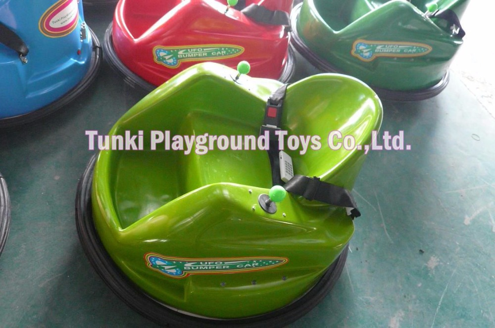 Outdoor playground electric kiddie ride used bumper cars for sale