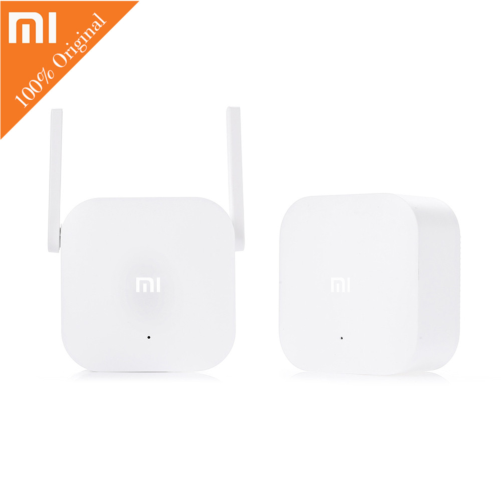 Original Xiaomi WiFi HomePlug 300M Mi Smart Home App Control 2.4GHz Wireless Router wi-fi wifi Extender For Home Office eukanuba сухой корм eukanuba adult toy breed для взрослых собак миниатюрных пород с птицей