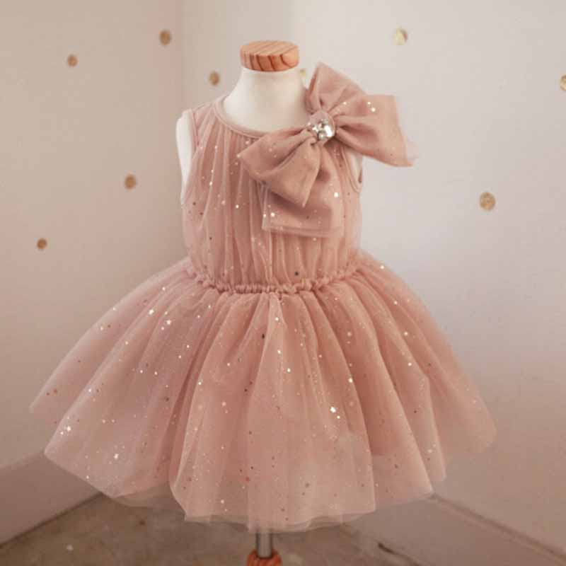 High quality flower girl dresses kids wedding party dress