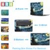 HRH Paiting For Sticker Macbook Air 11 12 13 Pro 13 15 Retina Decal Laptop Wall
