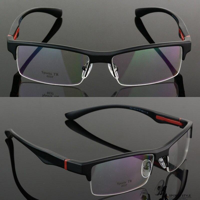 VazrobeTR90 Glasses Men Customize Optical Prescription Lens Male Myopia Diopter 1.56 1.61 1.67 Index Photochromic Spectacles Man