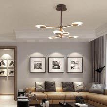 New Modern chandelier For livingroom bedroom Nordic lamp hanglamp Chandelier lighting Creative lustre moderno led