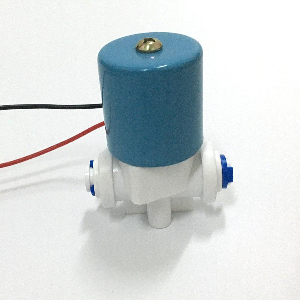 EBOWAN DC 24v 12v Electric Solenoid Water Valve 1/4