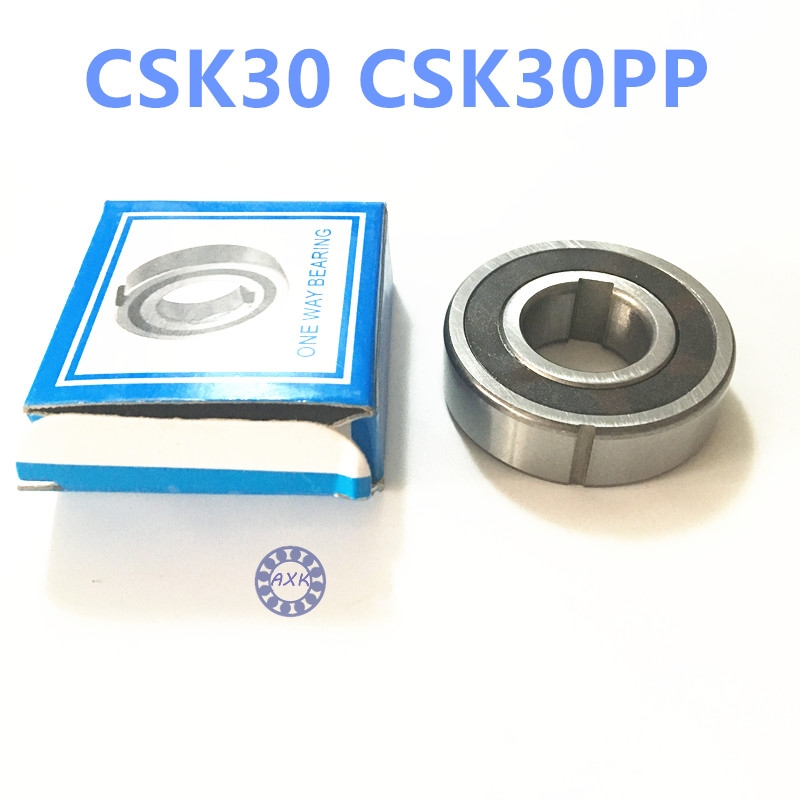 Free shipping 2pcs 6206 CSK30 CSK30PP BB30 one way clutch bearing 30x62x16 printer/Washing machine/printing machinery two groove free shipping big roller reinforced one way bearing starter spraq clutch for polaris ranger rzr1000 xp rzr1000xp 2013 2015