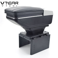 Vtear For opel corsa b/zafira armrest box central Store content box products interior Armrest Storage car styling accessories