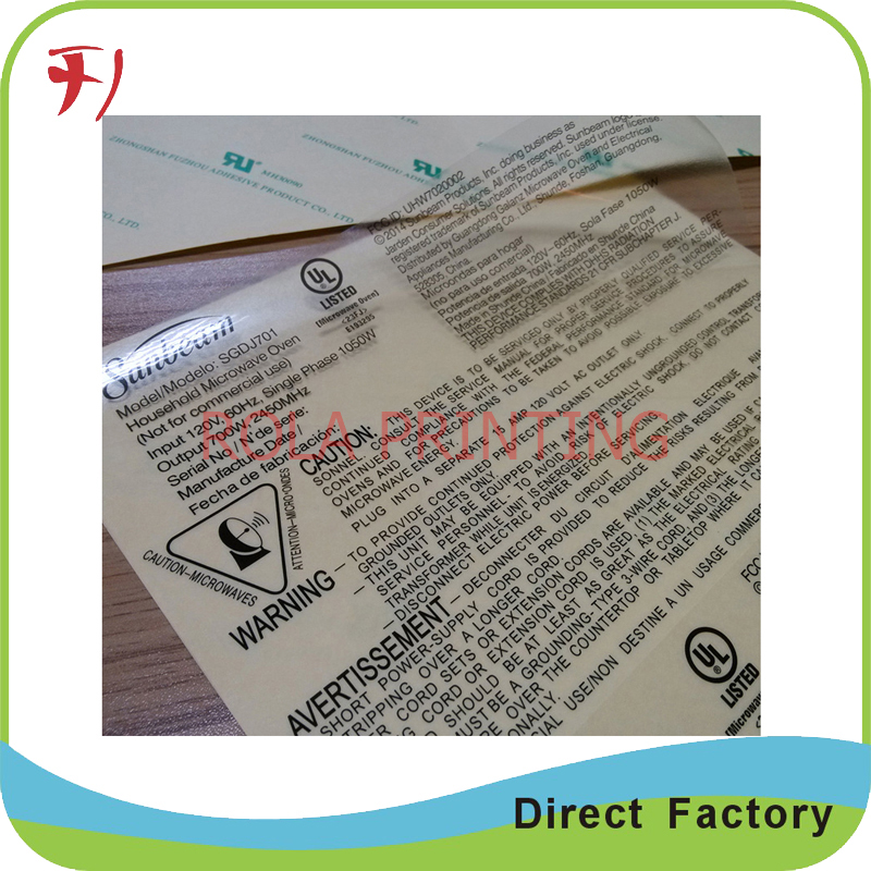 high quality custom cheap waterproof personalized sticker With custom shipping labels cheap