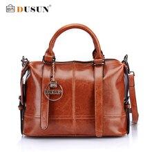 DUSUN frauen Casual Handtaschen Aus Echtem Leder Umhängetasche Frauen Umhängetasche Hochwertige Modefrauentasche Bolsa Feminina