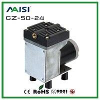 (GZ 50) 12V /24V (DC) 33L/MIN 50 W small electric vacuum pump High Pressure Diaphragm Pump medical vacuum pump Electric Air pump