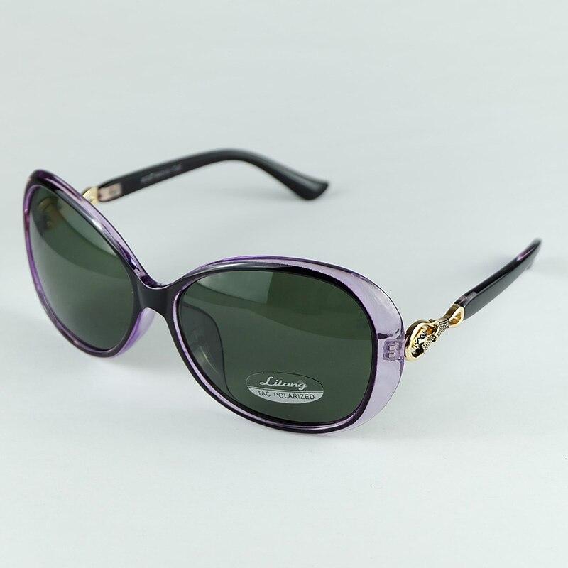 ▻2017 nueva mujer polarizadas Gafas de sol plástico oval Marcos con ...