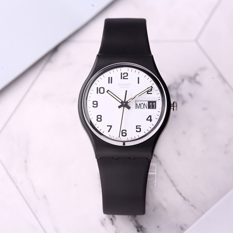 Swatch watch Color password couple men and women quartz watch GB743 swatch watch quartz men s watch pnz100