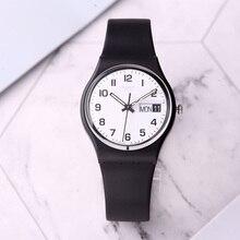 776198f2e38 Relógio Swatch Cor senha casal homens e mulheres relógio de quartzo GB743
