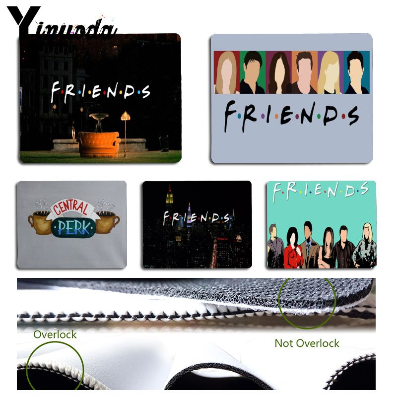 Yinuoda Friends TV Shows Mouse Pad PC Computer Mat Size For 180x220x2mm And 250x290x2mm Small Mousepad
