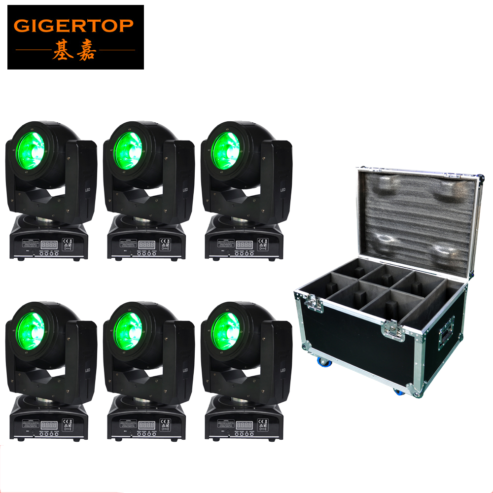 все цены на Factory Sales 6in1 Flightcase Packing 60W OSR-AM Led Moving Head Light 60W RGBW 4in1 LED IR Remote Control Optional 4-button онлайн