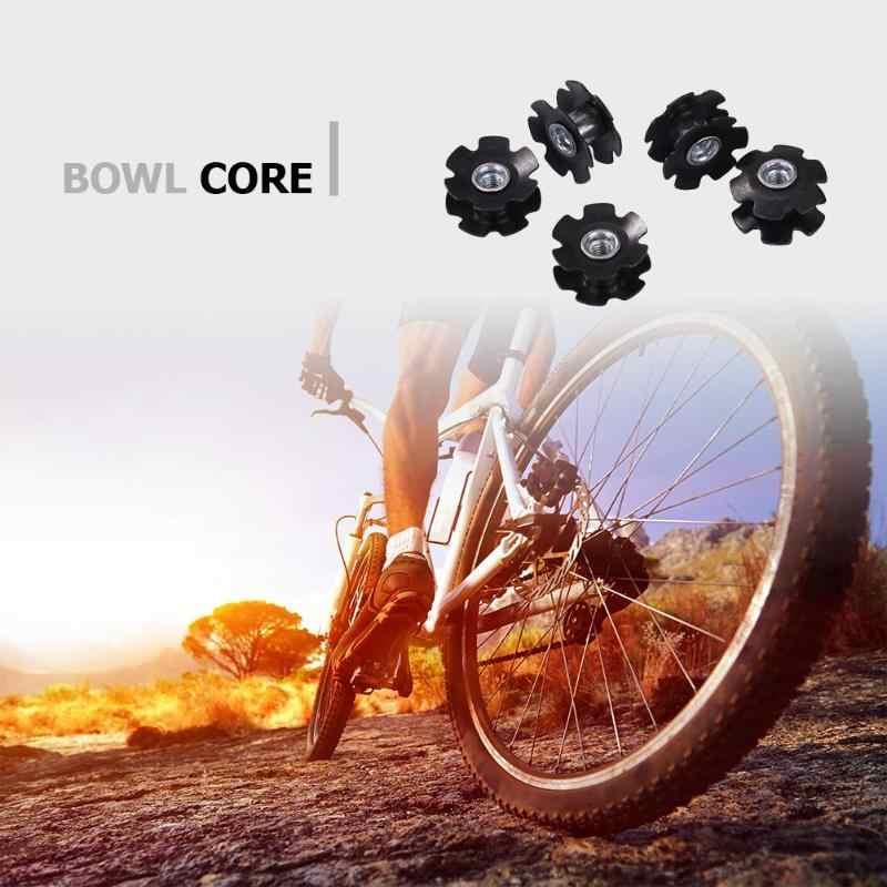 5 قطعة Bicyle الكربون الألياف عباد الشمس النواة الجبهة شوكة المسمار طقم أوعية ل MTB