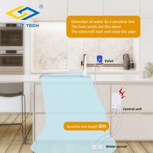 Image 5 - Hause Smart Wasser Leck Detektor mit Auto Abschaltung Ventil Wasser Flut Alarm Überlauf Leckage Sensor Für Home Security Alarm system
